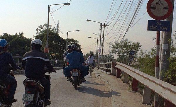 Nâng cấp cầu Tăng Long Quận 9 TPHCM gần 450 tỷ