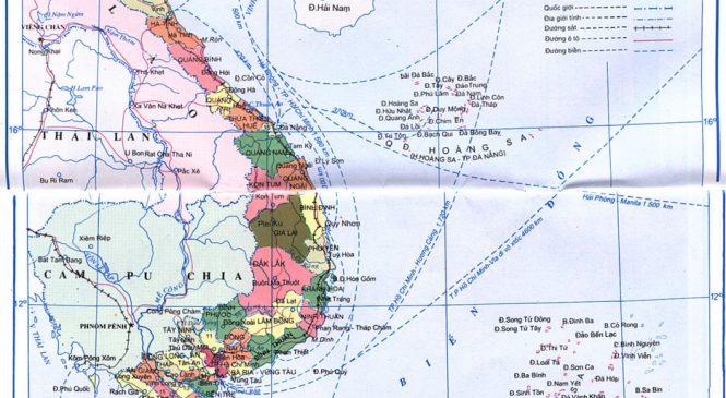 Bản đồ các tỉnh thành của Việt Nam