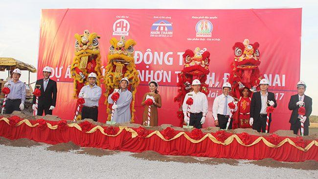 Kim Oanh động thổ dự án Phú Hội tại TP. Nhơn Trạch