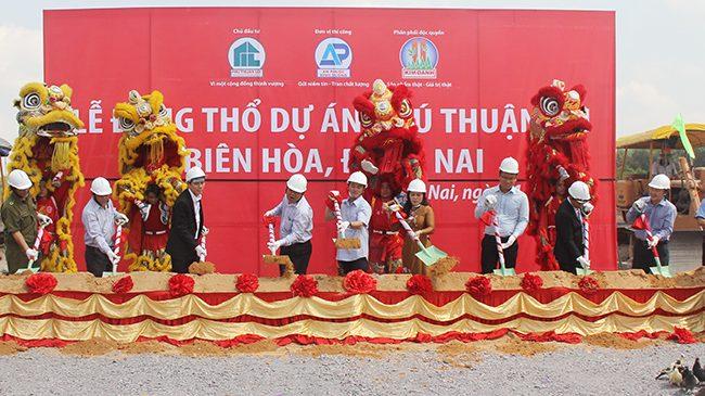 Kim Oanh động thổ dự án Phú Thuận Lợi 20ha tại TP.Biên Hòa