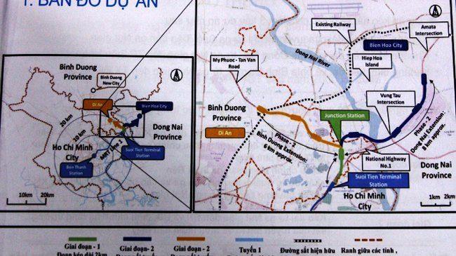 Tuyến Metro số 1 sẽ kéo dài đến Đồng Nai và Bình Dương
